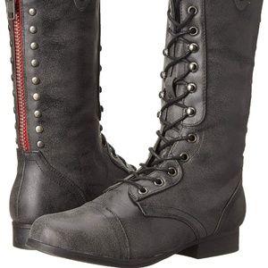 Madden Girl Women's Galeriaa Combat Boot